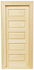 HW6021 - 5-Panel Traditional Interior Door