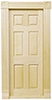 HW6025 - Trad 6-Panel Interior Door