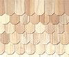 HW7003 - Octagon Butt Shingles, 100 Pc./Bag