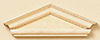 HW7070 - Hooded Pediment, 2PK