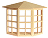 HWH5008 - .1/2 Scale: Bay Window, 24 Light