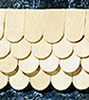 HWH7005 - 1/2 Scale: Fishscale Shingles, 400/Bag