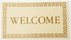IM65111 - Welcome Mat, Ivory