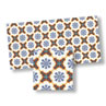 WM34121 - Mosaic Floor Tiles 9 1/2 Inch X 4 1/2