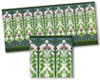 WM34444 - Nouveau Wall Tiles 10 1/2 Inch X 5