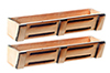 AS2006WB - Window Box, Slat Design
