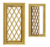 Casement Window, Diamond Design
