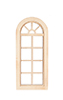 4/4 Palladian Window, Fits Opening 2-1/2 x 6-1/4