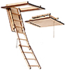 Folding Ladder Attic Stairs