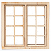 AS434HS - 1/2In 4 Over 4 Dbl Window