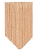 AS53 - Economy Cedar Shingles, Diamond, 1000/Pk