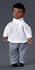 AZ00025 - Boy with Outfit, Black