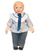 AZ06820 - Porcelain Brother Doll