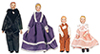 AZ06821 - Porcelain Doll Family/4