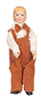 AZ06825 - Porcelain Brother Doll