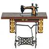 AZB0163 - Sewing Machine, Walnut