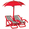 1/2In 2 Chairs, Umbrella, R