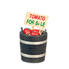 AZB0199 - Tomato For Sale Bucket