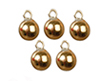 AZB0224 - Gold Xmas Ornaments Set, 5