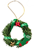 AZB0227 - Wreath with Berries, Ribbon
