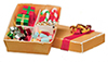 AZB0232 - Box of Christmas Decorations