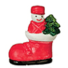 AZB0235 - .Snowman In Boot