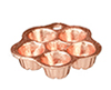 AZB0303 - Small Bundt Cake Mold, Cop