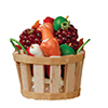 Bushel Basket with Veggies