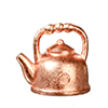 Tea Pot, Copper