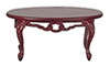 AZB7754 - Fancy Victorian Coffee Table, Mahogany