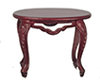 AZB7756 - Fancy Victorian Oval Table, Mahogany
