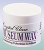 AZC3661 - Clear Museum Wax, 2 Oz