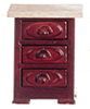 AZD0064 - Night Table, Mahogany/Cb