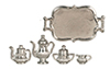 AZD0158 - Tea Set, Silver Plated