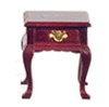 AZD1114 - Square End Table, Mahogany