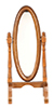AZD1165 - Cheval Mirror, Walnut/Cb
