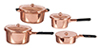 AZD3653 - Copper Pot Set/8
