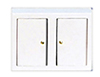 AZD3777D - Kitchen Cabinet, White