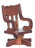 AZD4682 - Office Chair, Walnut