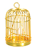 AZD4751B - Brass Birdcage with Bird/Cb