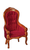 AZD6271 - T6273 Victorian Gent'S Chair, Red