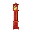AZD6417 - Grandfather Clock, Walnut/Cb