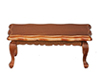 AZD6840 - Victorian Coffee Table, Walnut/Cb