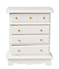 AZD6860 - Chest Of Drawers, White/Cb