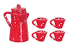 AZD6924 - Redware Coffee Set