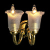 AZD8438 - 12V Double Wall Sconce