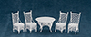 AZEIWF209 - Gathering Table, 4 Chairs/Cb