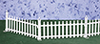 AZEIWF289 - White Picket Fence, 6Pc/Cb