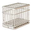 AZEIWF463 - 1/2 In Dog Cage, Galvanized/Cb