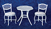 AZEIWF540 - Table Set, 3, White